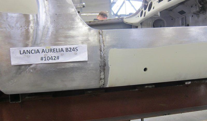 """LANCIA AURELIA B24 S SPIDER 'AMERICA' CON HARD TOP """"FONTANA"""" – RESTAURO TOTALE CARROZZERIA """"NOVA RINASCENTE"""" DI COGNOLATO DINO E C. SNC – VIGONZA (PADOVA) – (1955)"""